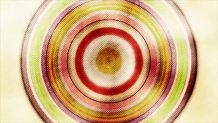 Fondo fractal de circulos