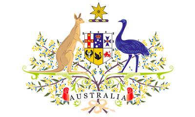 Герб австралия