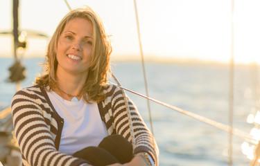 Portrait Of Happy Mature Woman
