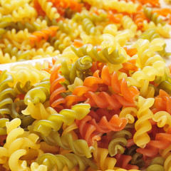 vegetable fusilli