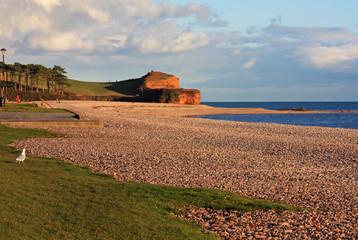 Budleigh Salterton beach, Devon
