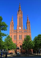 Wiesbaden - Marktkirche - Frühling 2013