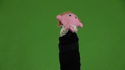 Dance men puppets