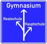 Schule Gymnasium Schild  #130507-svg01 poster