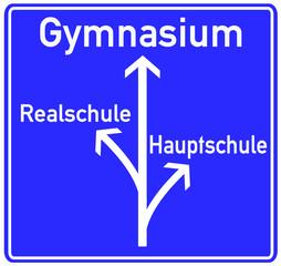Schule Gymnasium Schild  #130507-svg01