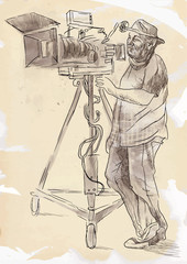 The art of film: Cameraman