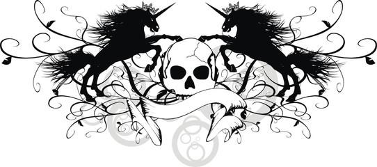 heraldic unicorn coat of arms4