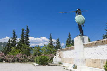 Leonidas statue, Thermopylae, Greece