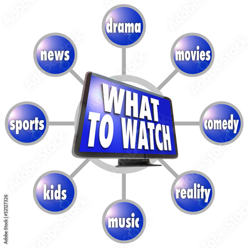 What to Watch HDTV Program Suggestions Ideas Guide