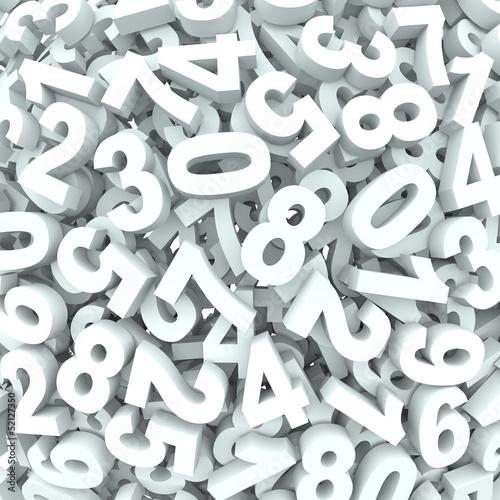 liczba-tla-3d-liczb-w-nieladzie