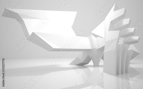 abstrakte-architektur-konzept-eines-modernen-gebaudes