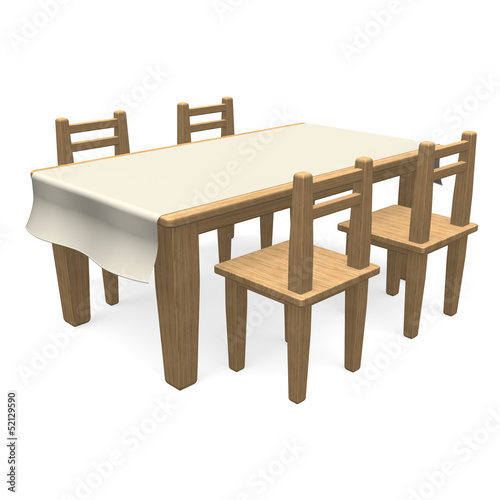 WoodenDiningTable