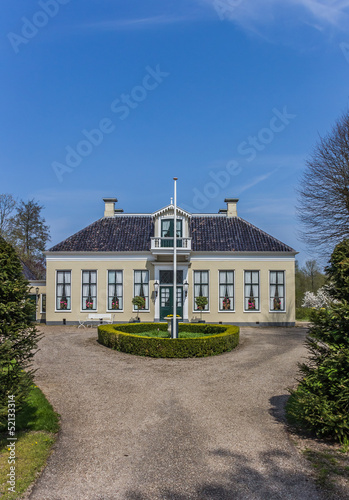 Dutch mansion Rensumaborg