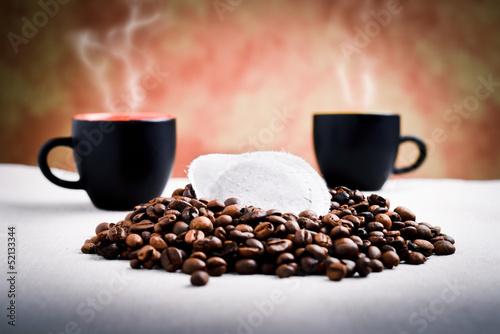 Fotobehang Cafe filtro di caffè