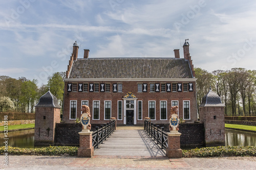 Old dutch mansion Menkemaborg