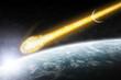 Apocalypse : meteorite on the planet Earth - 52133797