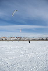 Winter kite