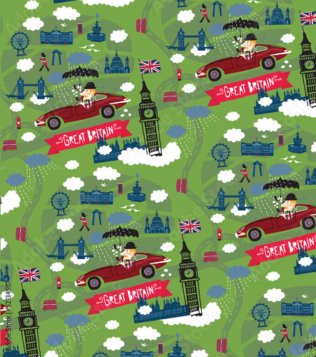 Great Britain pattern - 52134507