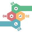 Modern design template for website