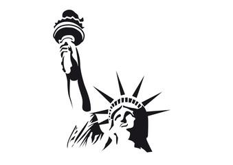 New York Freiheitsstatue Vektor