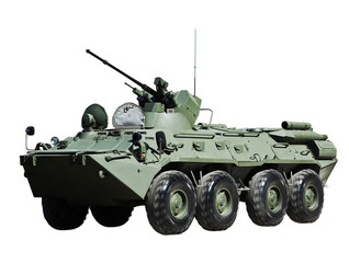 Russian BTR-82А armored personnel carrier