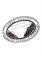 Verde Valley tourist stamp