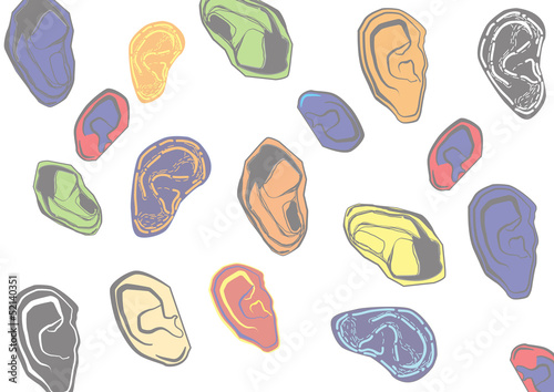 Various kinds of ear