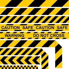 Absperrband, Barrier Tape, Restrictive Tape