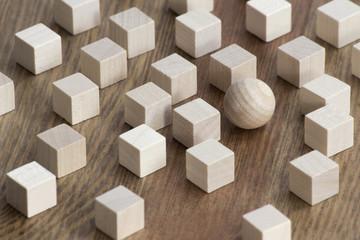 Holz / Individualität