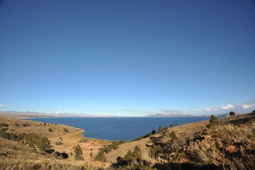 Titicaca lake. Bolivia