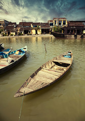 Fishing boats in Hoi An