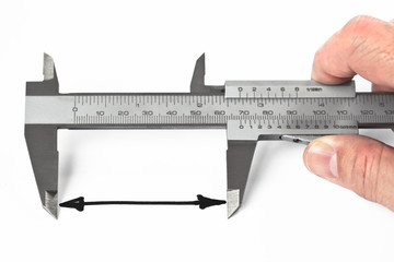 Measurement With Caliper