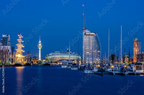 Leinwanddruck Bild Bremerhaven