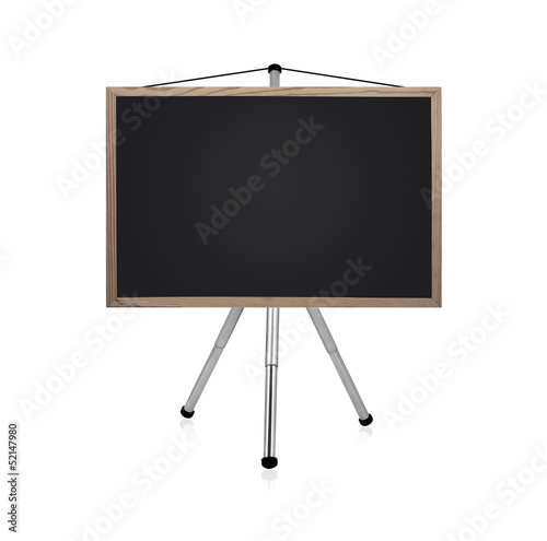 blackboard with tripod