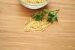 Risoni Pasta with Italian Parsley