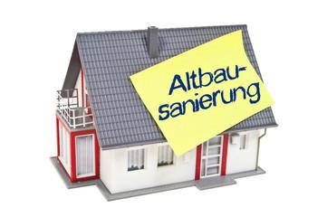 Haus mit Altbausanierung