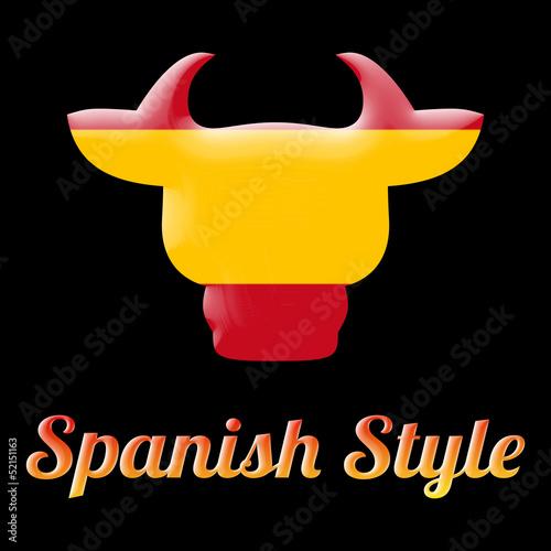 toro, simbolo della Spagna
