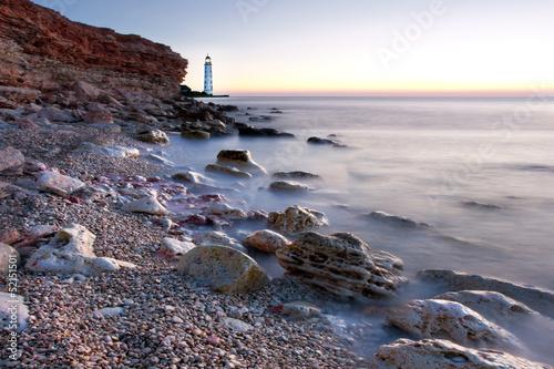 Fototapeten,leuchtturm,meer,ozean,licht