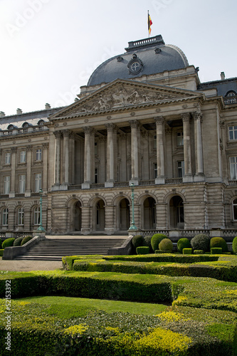 Royal Palace Brussels - Vertical