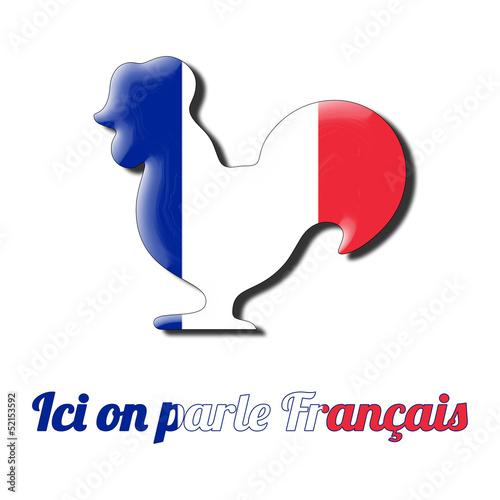 gallo simbolo di Francia; attività poliglotta