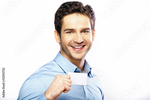 Commercial style picture of handsome guy