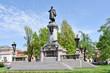 Monument of Polish poet Adam Mickiewicz. Warsaw, Poland