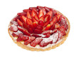Tart with strawberries