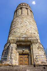 Bismarckturm aus der Froschperspektive