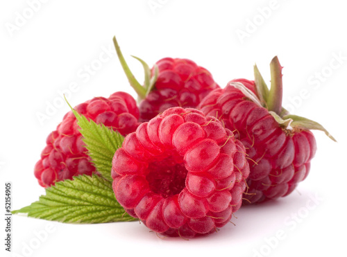 Ripe raspberries © Natika