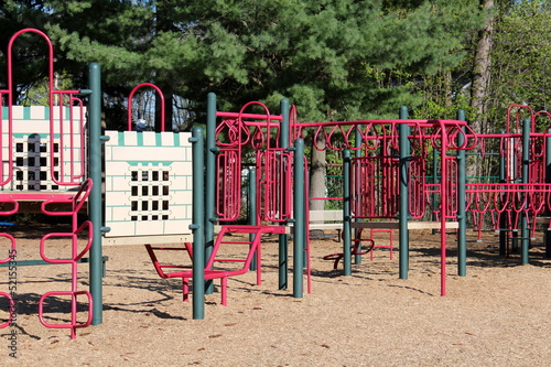 New playground for neighborhood children to play in