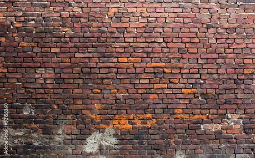 Old brick wall - 52155360