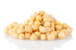Pile of chickpeas
