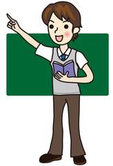 塾講師の男性