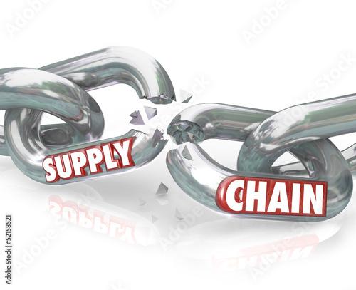 Supply Chain Broken Links Severed Relationships